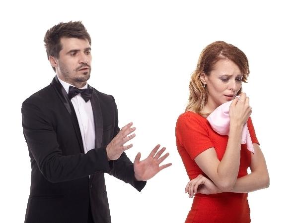 涙は女の武器……浮気を許してもらうときにも使われている様子