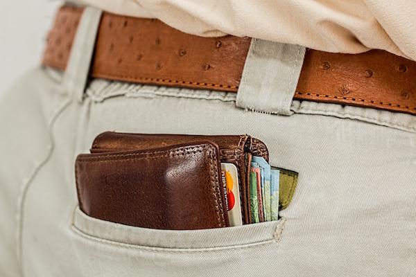 尻ポケットに入れてたはずの財布が……