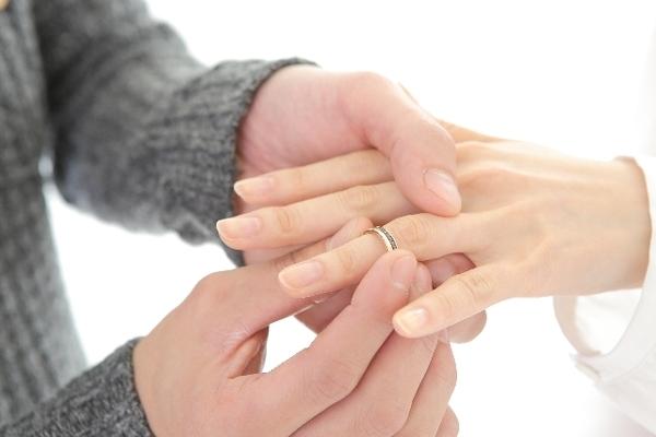 婚約指輪の準備